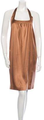 Narciso Rodriguez Classic Silk Sleeveless Dress