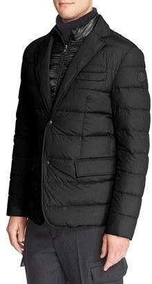 Men's Moncler 'Ferrand' Quilted Sport Coat $1,195 thestylecure.com