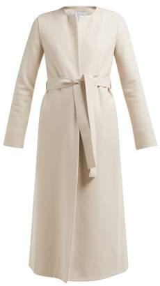 Harris Wharf London Pressed Wool Belted Coat - Womens - Cream