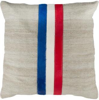 Safavieh Torrance Cowhide Pillow