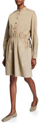 The Row Uri Cotton Utility Shirtdress