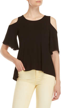 Cupio Cold Shoulder Tee