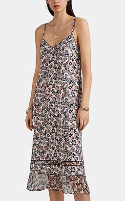 Rag & Bone Women's Ilona Floral Silk Crêpe De Chine Dress