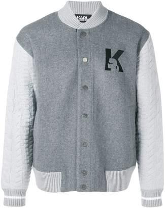 Karl Lagerfeld K bomber jacket