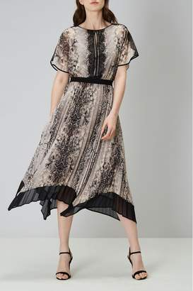 Coast Womens Animal Marni Snake Print Dress - Animal