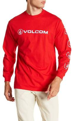Volcom Line Euro Graphic Long Sleeve Shirt