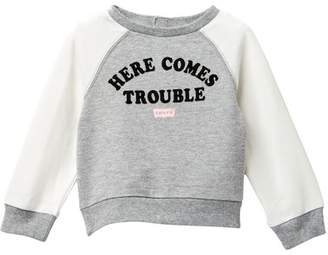 Levi's Here Comes Trouble Long Sleeve (Baby Girls)
