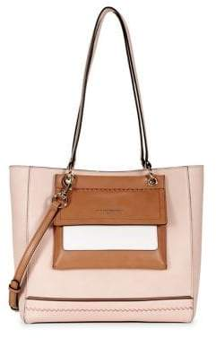 Karl Lagerfeld Paris Peony Leather Convertible Tote Bag
