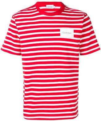 Calvin Klein striped T-shirt
