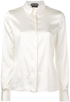 Tom Ford pointed collar shirt