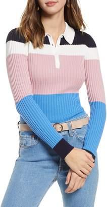 1901 Long Sleeve Polo Sweater