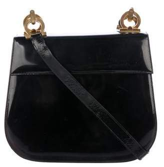073c05edb4 Salvatore Ferragamo Black Leather Crossbody Handbags - ShopStyle