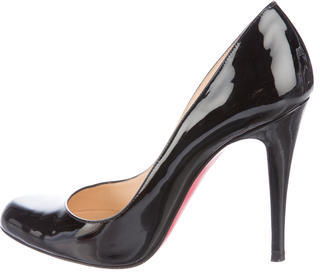 Christian Louboutin  Christian Louboutin Patent Leather Ron Ron Pumps