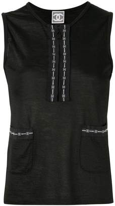 Chanel Pre-Owned Sports Line sleeveless tops