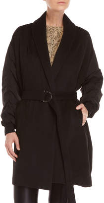 Religion Realism Belted Coat