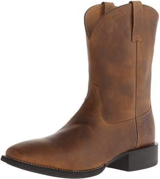 Ariat Men's Heritage Roper Wide Square Toe Western Boot