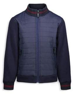 Andy & Evan Baby's& Little Boy's Stand Collar Puffer Jacket