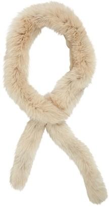 Etro Beige Fox Scarves