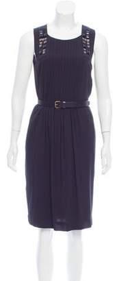 Derek Lam Belted Sleeveless Dress