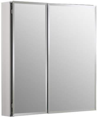 """Kohler 25"""" x 26"""" Recessed or Surface Mount Frameless Medicine Cabinet with 2 Adjustable Shelves"""