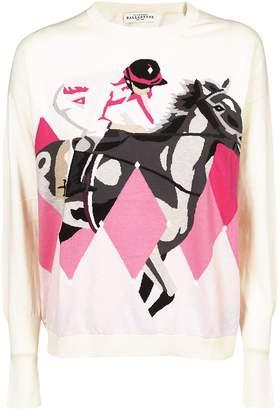 Ballantyne Printed Sweater