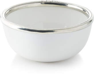 Neiman Marcus Pewter and Ceramic Cereal Bowl