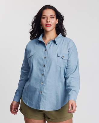 ICONIC EXCLUSIVE - Hannah Chambray Shirt