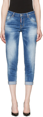 Dsquared2 Blue Hockney Jeans $525 thestylecure.com