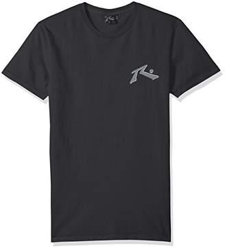 Rusty Men's Original Logo Traditional Fit Short Sleeve T-Shirt