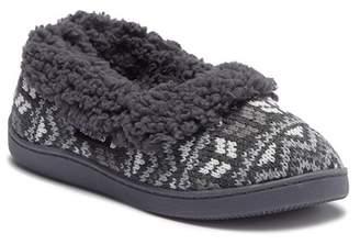 Muk Luks Full Foot Faux Fur Lined Slipper