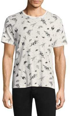 The Kooples Illustrated Graphic Tee