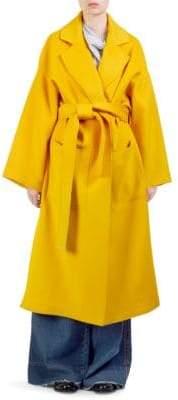 Loewe Oversize Belted Wool Coat