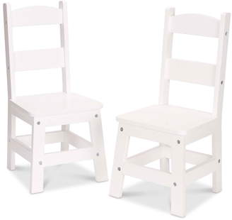 Melissa & Doug Set of 2 Wooden Chairs