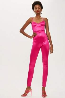 Topshop Super Skinny Jumpsuit