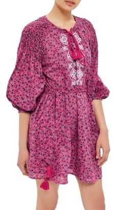 Women's Topshop Floral Smock Dress $110 thestylecure.com