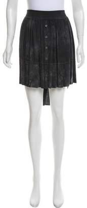 Raquel Allegra Tie-Dye Knee-Length Skirt