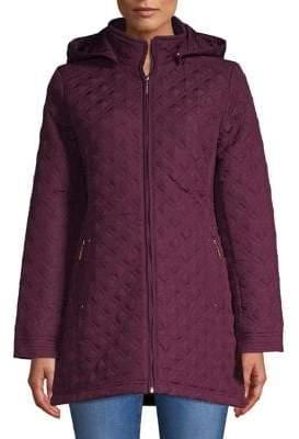 Weatherproof Quilted Full-Zip Jacket
