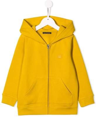 Acne Studios Kids mini Ferris zip front hoodie