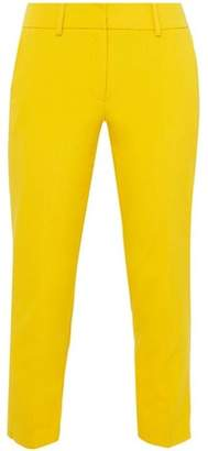 Dorothy Perkins Womens Petite Yellow Naples Ankle Grazer Trousers