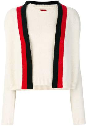 Moncler two piece knitted top