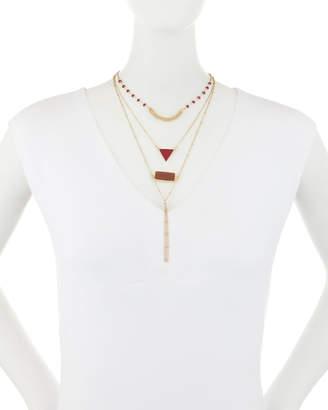 Panacea Multilayer Crystal Necklace