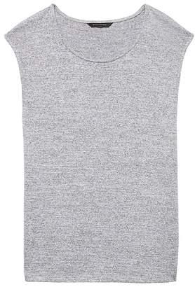 Banana Republic Petite Soft Jersey Side-Slit T-Shirt