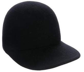 Stella McCartney Wool Baseball Hat