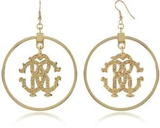 Roberto Cavalli Rc Icon Hoop Earrings