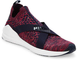 Puma Peacoat Blue & Pink Fierce Evoknit Training Sneakers