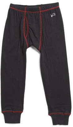 Boys Double Layer Thermal Pants