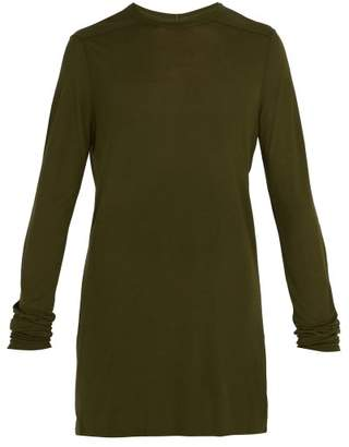 Rick Owens Long Sleeved T Shirt - Mens - Green