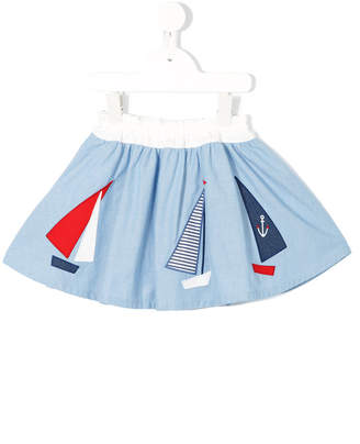 Familiar boat patch skirt