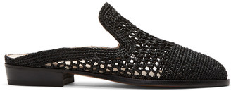 Robert Clergerie Black Antes Slip-On Loafers $450 thestylecure.com