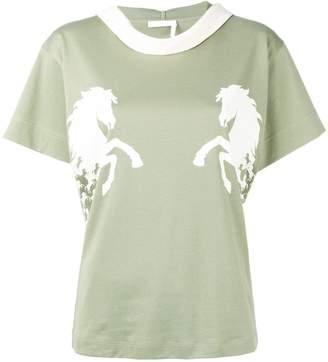 Chloé horse T-shirt